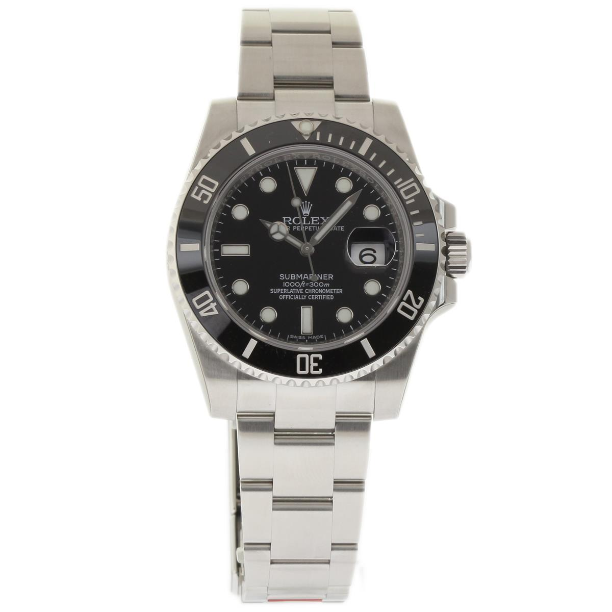 """Image of """"Rolex Submariner 116610 Stainless Steel Black Dial Automatic 40mm Mens"""""""