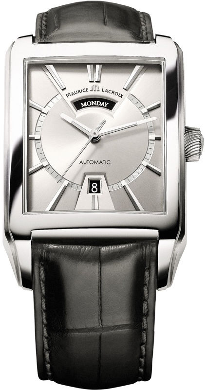 "Image of ""Maurice Lacroix Day Date Pt6237-Ss001-13E Stainless Steel 36mm Mens"""