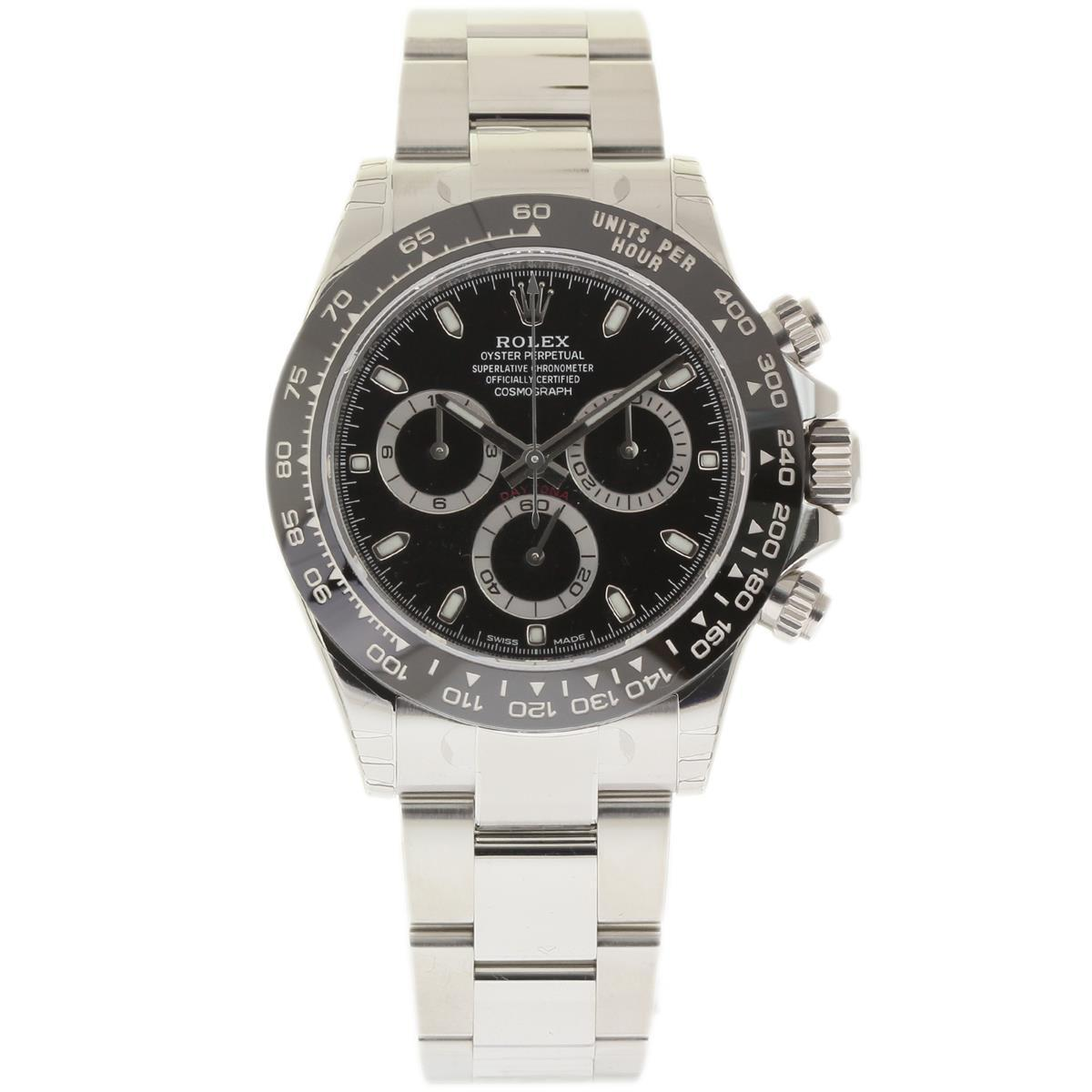 "Image of ""Rolex Daytona 116500 Stainless Steel 40mm Mens Watch"""