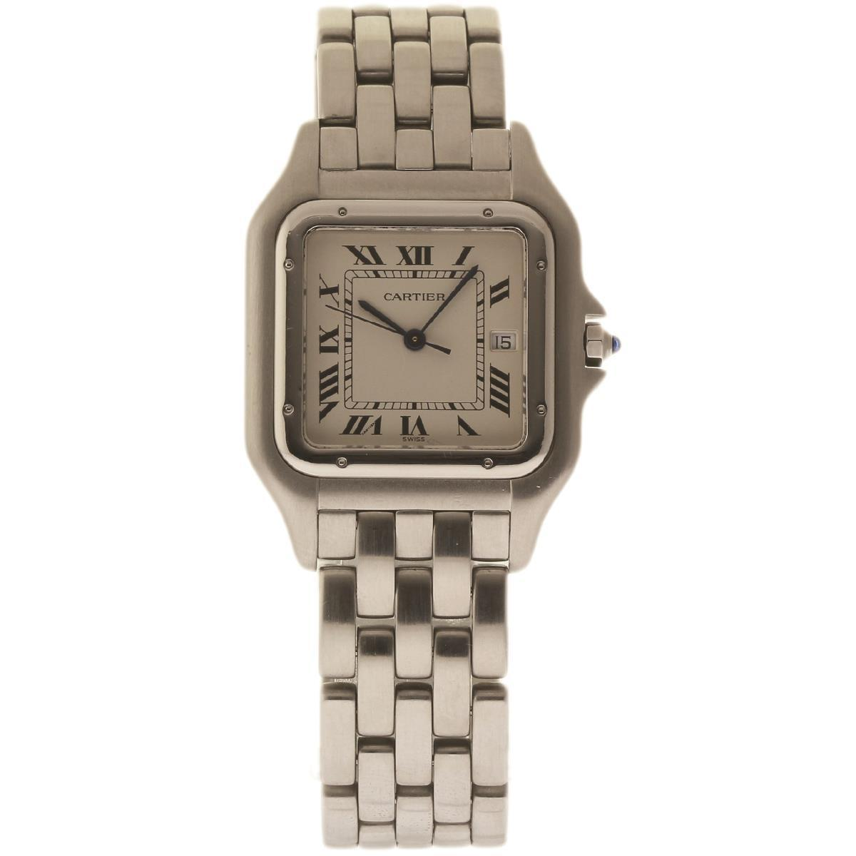 """Image of """"Cartier Panthere W25032P5 Stainless Steel 29mm Womens Watch"""""""