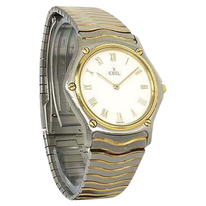 "Image of ""Ebel 18K Yellow Gold & Stainless Steel 35.6mm Mens Watch"""