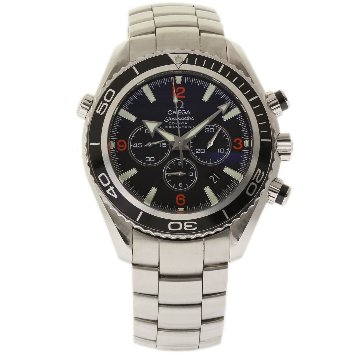 """Image of """"Omega Seamaster 2210.51.00 Stainless Steel Black Dial Automatic 45mm"""""""