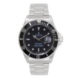 Rolex Submariner 16610 Stainless Steel Black Dial Automatic 40mm Mens Watch