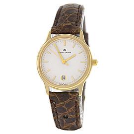 Maurice Lacroix 7189853-08 18K Yellow Gold Quartz 27mm Womens Watch