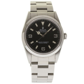 Rolex Explorer 14270 Stainless Steel & Black Dial Automatic 36mm Unisex Watch