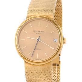 Patek Philippe Calatrava 3802/1J 18K Yellow Gold Automatic 33mm Mens Watch