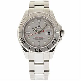 Rolex Yacht-Master 16622 Stainless Steel/Platinum Grey Dial Automatic 40mm Mens Watch 2002