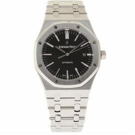 Audemars Piguet Royal Oak 15400ST.OO.1220ST.01 Stainless Steel Black Dial Automatic 41mm Mens Watch