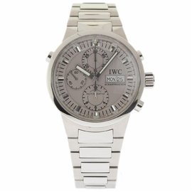 IWC GST Rattrapante IW371508 Stainless Steel 43mm Mens Watch