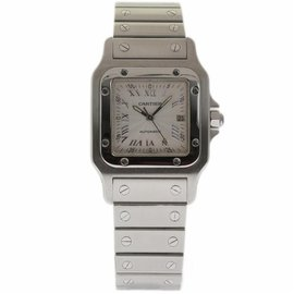 Cartier Santos Galbee W20060D6 Stainless Steel 29mm Womens Watch