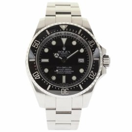 Rolex Sea-Dweller Deepsea 116660 Stainless Steel Black Dial Automatic 44mm Mens Watch