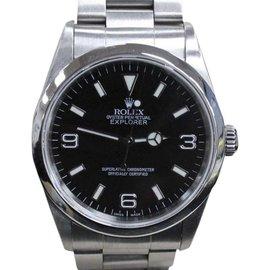 Rolex Explorer 14270 Black Dial Stainless Steel 36mm Mens Watch
