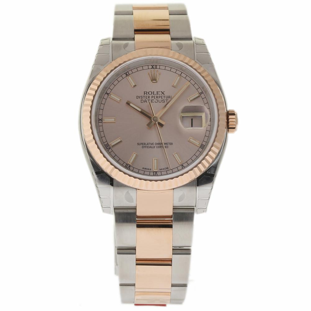 """Image of """"Rolex Datejust 116231 Stainless Steel & 18K Pink Gold 36mm Unisex"""""""