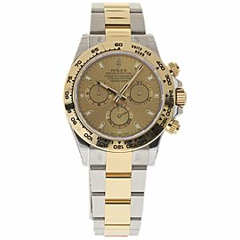 Rolex Daytona 116503 Stainless Steel & 18K Yellow Gold Chamapagne Dial Automatic 40mm Mens Watch