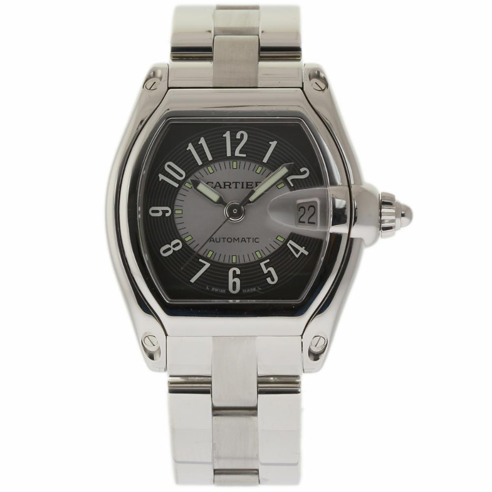 """Image of """"Cartier Roadster W62001V3 Stainless Steel 37mm Mens Watch"""""""