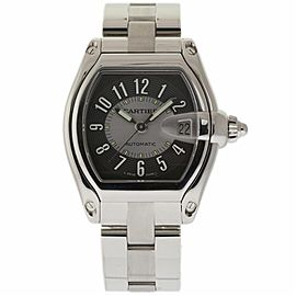 Cartier Roadster W62001V3 Stainless Steel 37mm Mens Watch