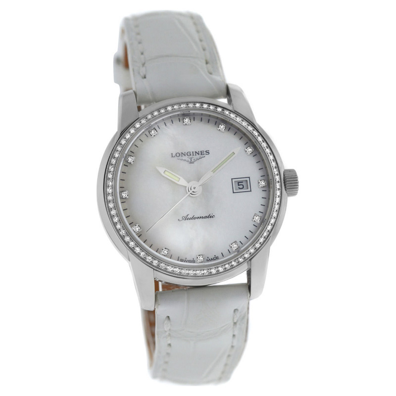 """Image of """"Longines Saint-Imier L25630872 Stainless Steel Automatic 30mm Womens"""""""