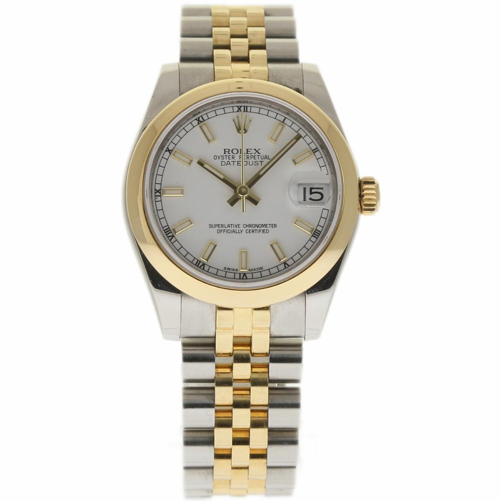 "Image of ""Rolex Datejust 178243 Stainless Steel & 18K Yellow Gold White Dial"""
