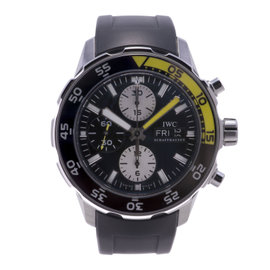 IWC Aquatimer IW376701 Stainless Steel / Rubber 44mm Mens Watch