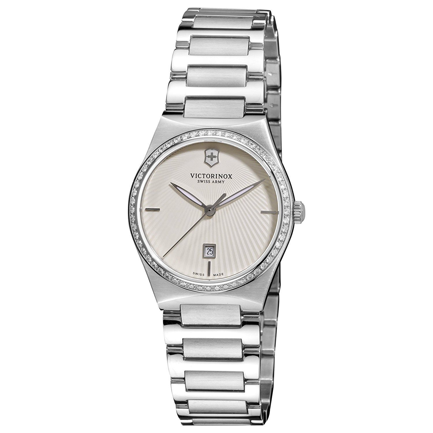 "Image of ""Victorinox Swiss Army 241521 Stainless Steel Quartz 28mm Womens Watch"""