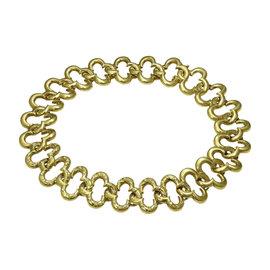Van Cleef & Arpels Alhambra 18K Yellow Gold Diamond Necklace