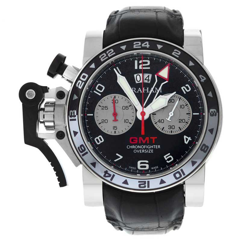 "Image of ""Graham Chronofighter GMT Big Date 20Vgs.b39A.018 Stainless Steel 48mm"""