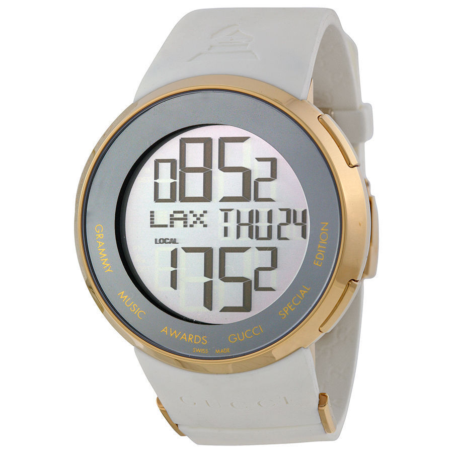 "Image of ""Gucci Grammy Digital Ya114216 Gold Plated Stainless Steel & Rubber"""
