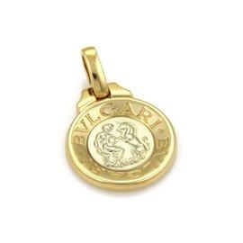 Bulgari 18K Yellow & White Gold Pendant