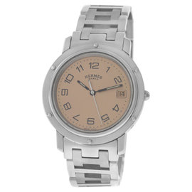 Hermes Clipper CL6.710 Stainless Steel 36mm Mens Watch