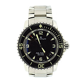 Blancpain Fifty Fathoms Sport 5015 Stainless Steel Automatic 45mm Mens Watch