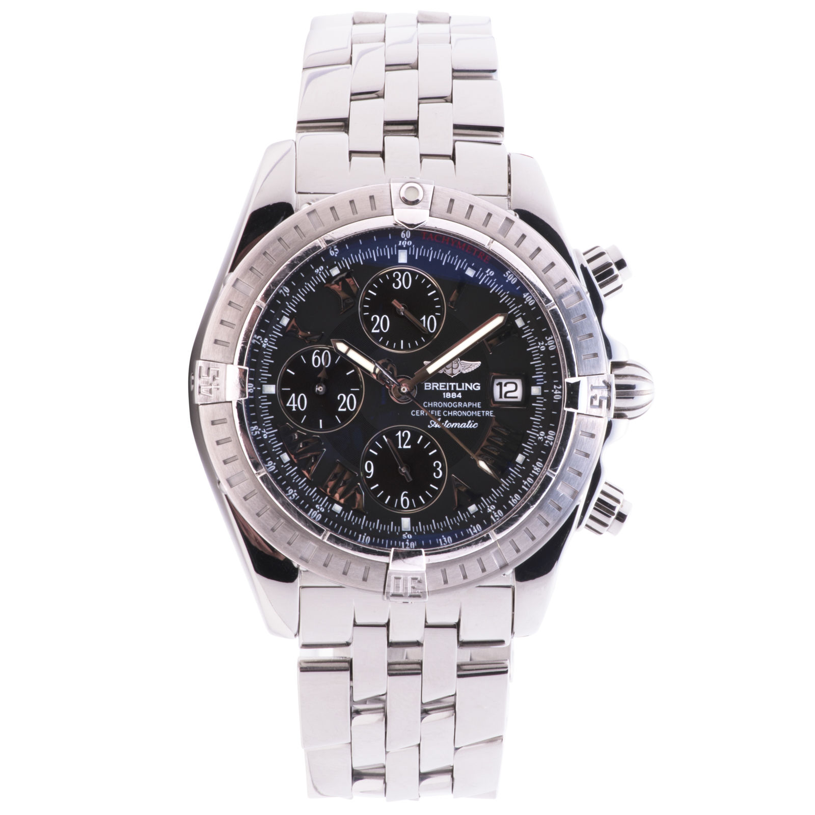"""Image of """"Breitling Chronomat Evolotion A13356 Stainless Steel Black Dial"""""""