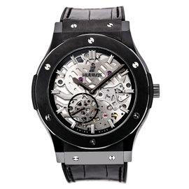 Hublot Classic Fusion 515.CM/0140.LR Ceramic / Leather 45mm Mens Watch