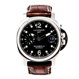 Panerai Luminor Pam PAM00159 Stainless Steel Black Dial 40mm Mens Watch