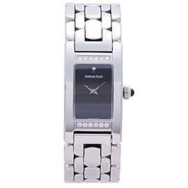 Audemars Piguet Promesse B69213 Stainless Steel Black Dial 35mm Womens Watch