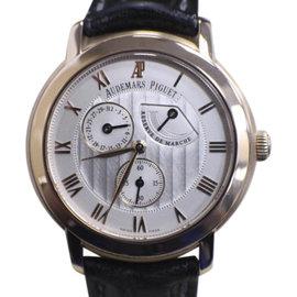 Audemars Piguet Jules 25955OR.OO.D002CR.01 18K Rose Gold / Leather 36mm Unisex Watch