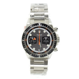 Tudor Heritage 70330N Stainless Steel Gray Dial Automatic 42mm Mens Watch