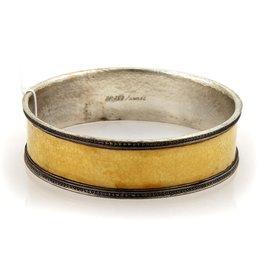 Gurhan Lancelot 24K Yellow Gold & 925 Sterling Silver Bangle