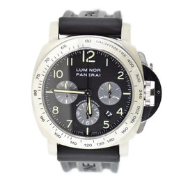 Panerai Luminor PAM162 Stainless Steel & Rubber Automatic 44mm Mens Watch
