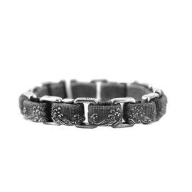 David Yurman 925 Sterling Silver Waves Link Bracelet