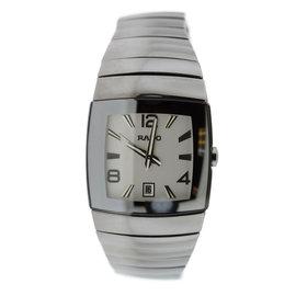 Rado Diastar R13599109 Ceramic Silver Dial Quartz 35mm Mens Watch