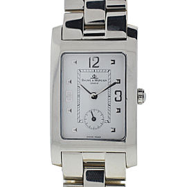 Baume & Mercier Hampton Stainless Steel Quartz 26mm Womens Watch