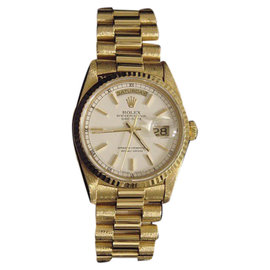 Rolex Day-Date 18238 18K Yellow Gold Automatic 36mm Mens Watch