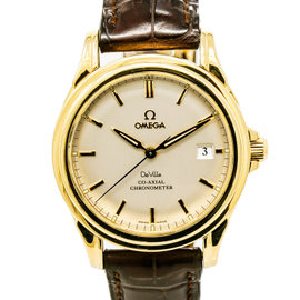Omega Deville 4631.80.33 18K Yellow Gold Automatic 38mm Mens Watch