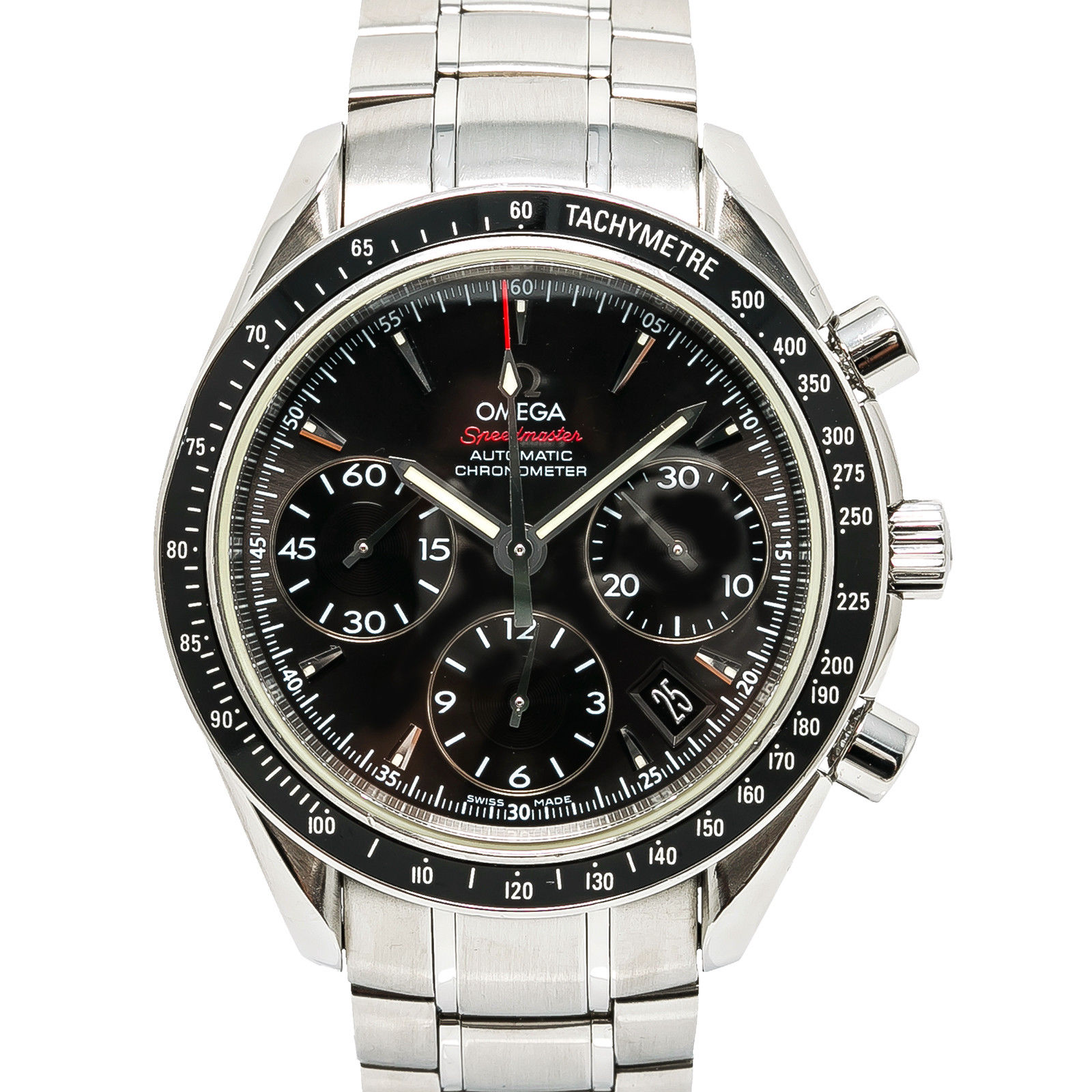 "Image of ""Omega Speedmaster 323.30.40.40.06.001 Stainless Steel Black Dial"""