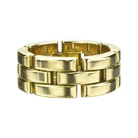 Cartier Maillon Panthere 18K Yellow Gold Ring Size 6
