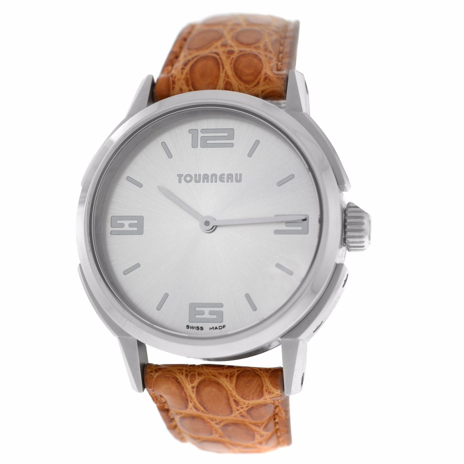 "Image of ""Tourneau TNY 350701 Stainless Steel Quartz 35mm Womens Watch"""