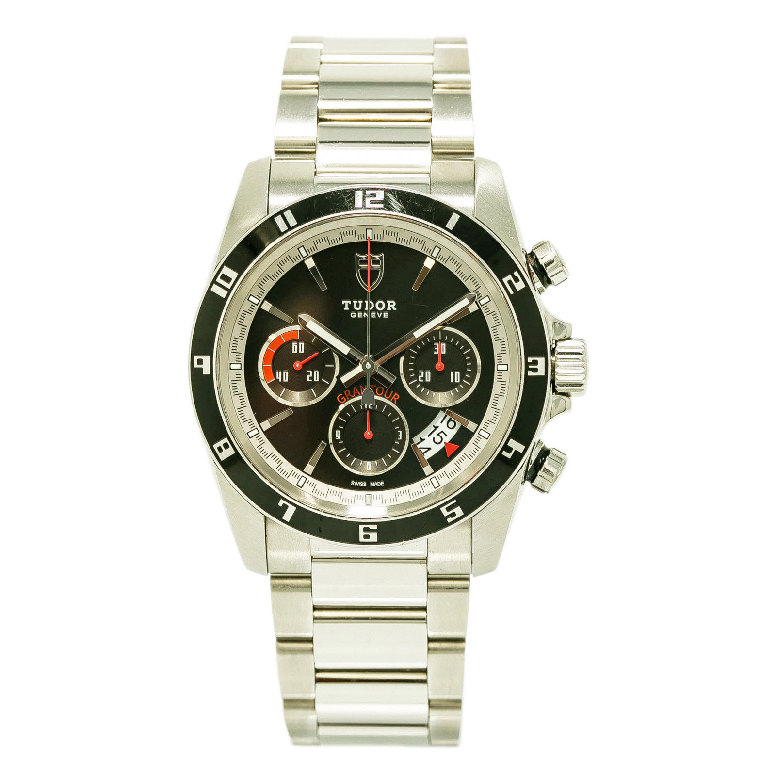 """Image of """"Tudor Grantour 20530 Stainless Steel Automatic 42mm Mens Watch"""""""