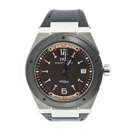 IWC Ingeniuer IW323401 Stainless Steel/Ceramic & Leather Automatic 44mm Mens Watch