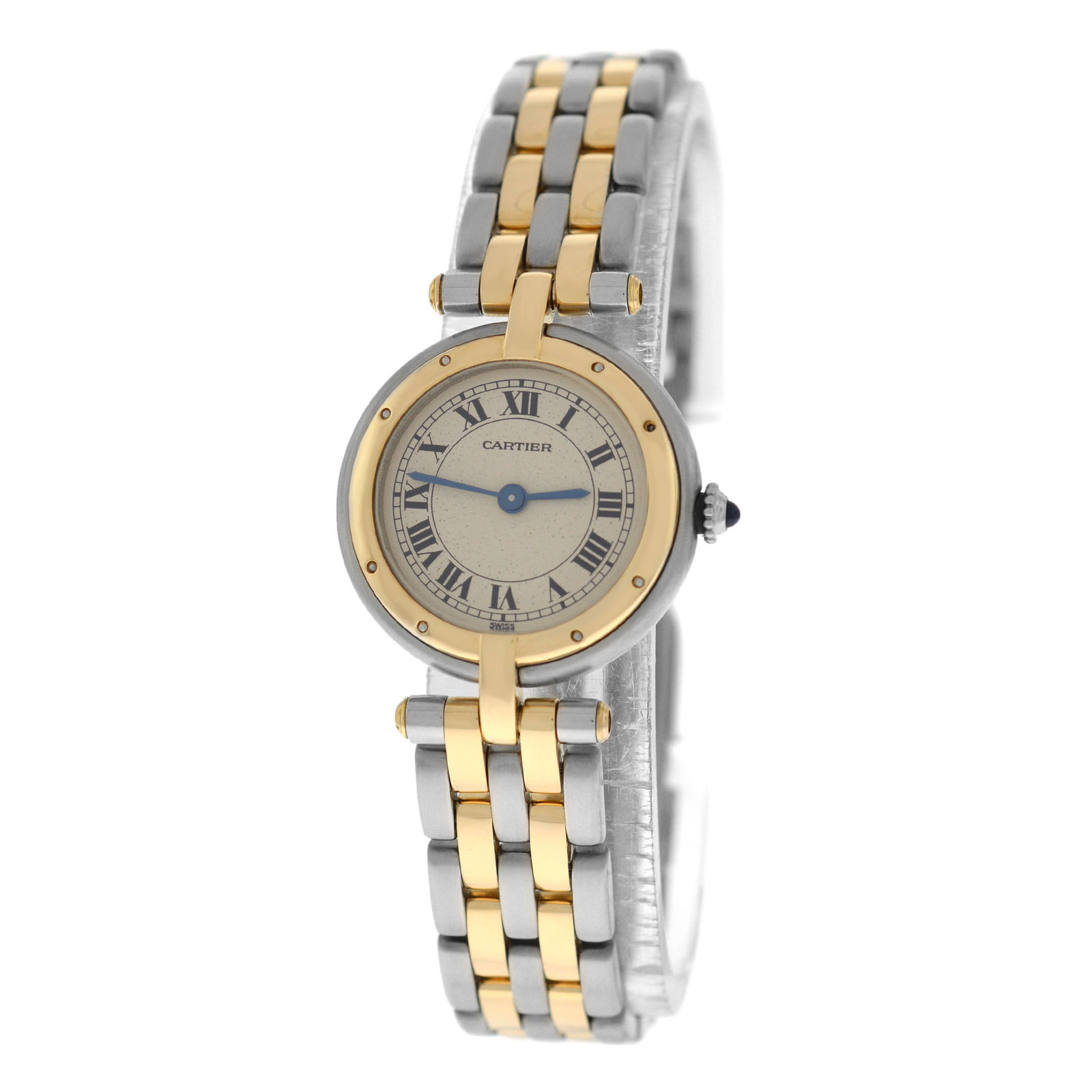 """Image of """"Cartier Panthere Vendome 1057920 Stainless Steel & 18K Yellow Gold"""""""