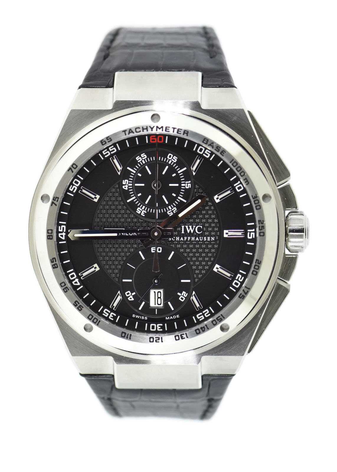 "Image of ""IWC Big Ingenieur Iw378406 Chronograph Stainless Steel 45.5mm Mens"""